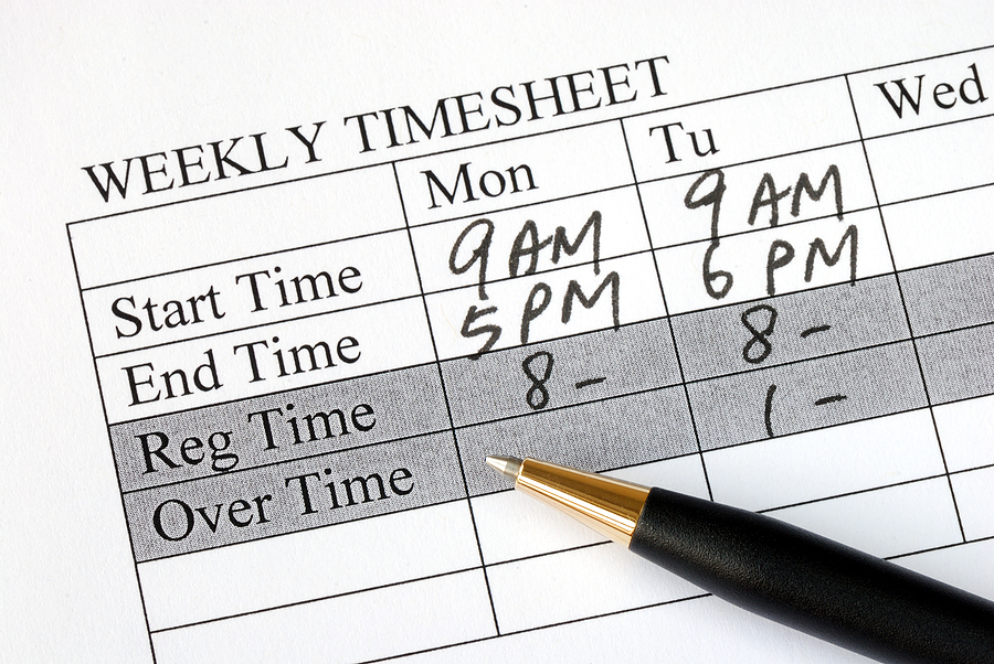 timesheet illustration