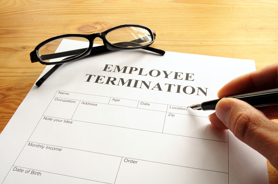 Employee stock options termination of employment