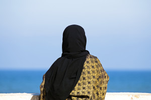 Muslim-Woman-wearing-headscarf-300x200