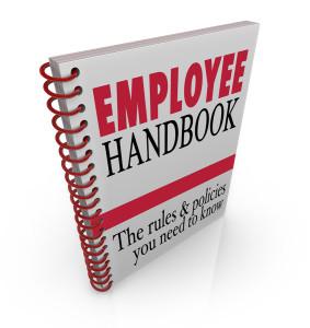 Employee Handbook Contiaining Unenforceable Arbitration Provision