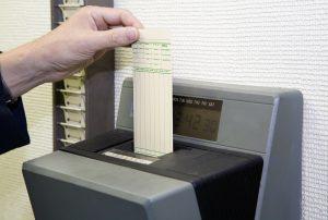Employee Time Card