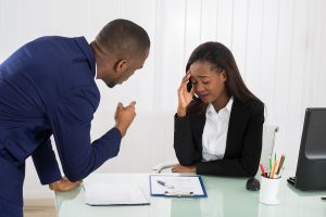 Workplace bullying can violate employee handbook
