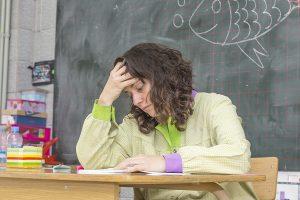 Teacher denied reasonable accommoation for her disability.